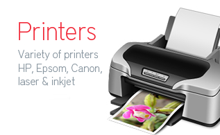 we do wide ranges of printers